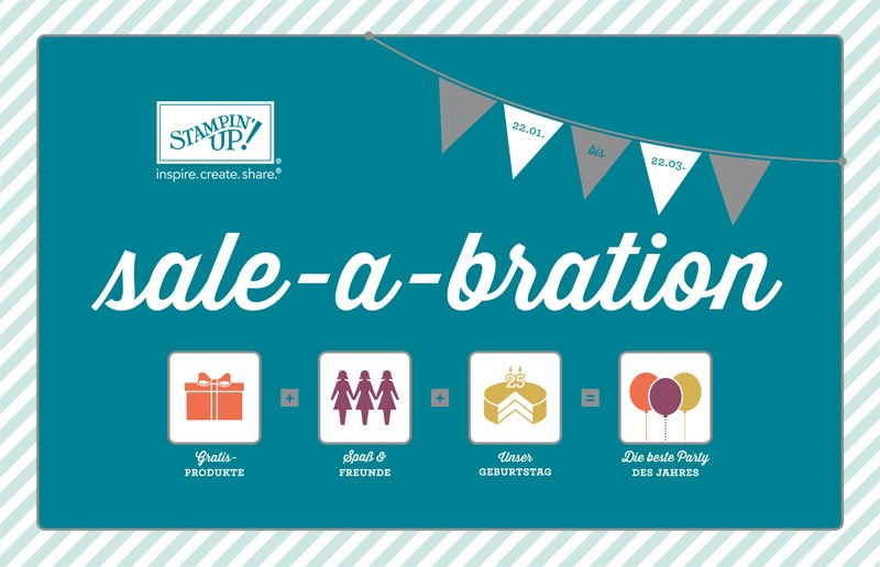 Die Sale-a-bration-Aktion von Stampin' Up!