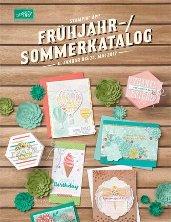 Frühling-/Sommerkatalog 2017 von Stampin' Up!